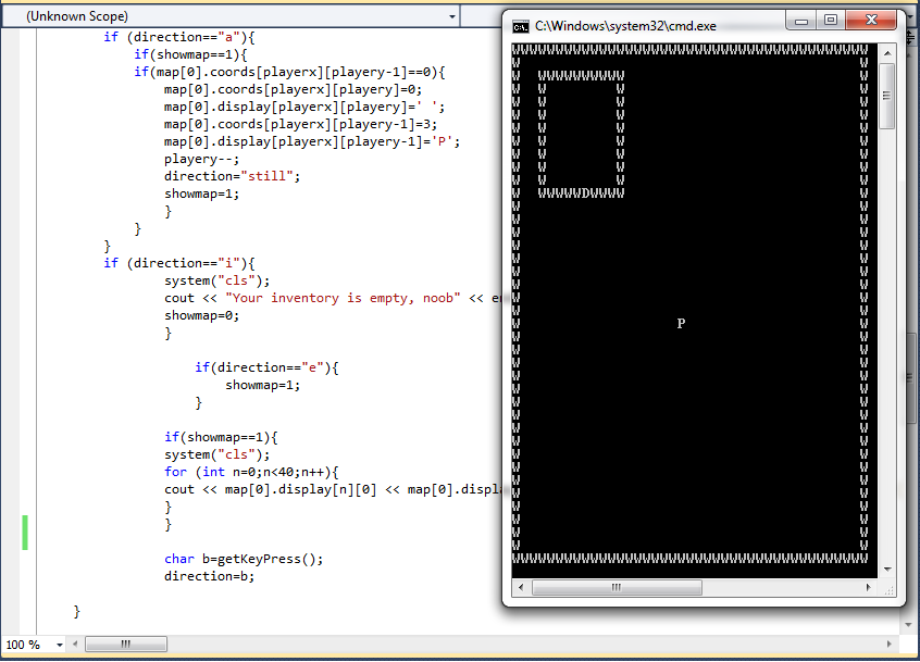 Making games in Visual Studio.