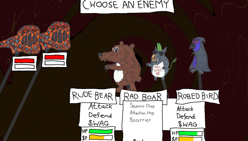 Rude Bear RPG