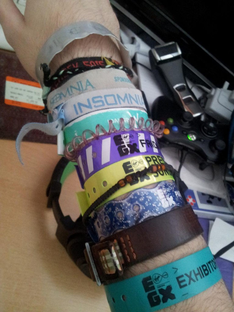 My wrist
